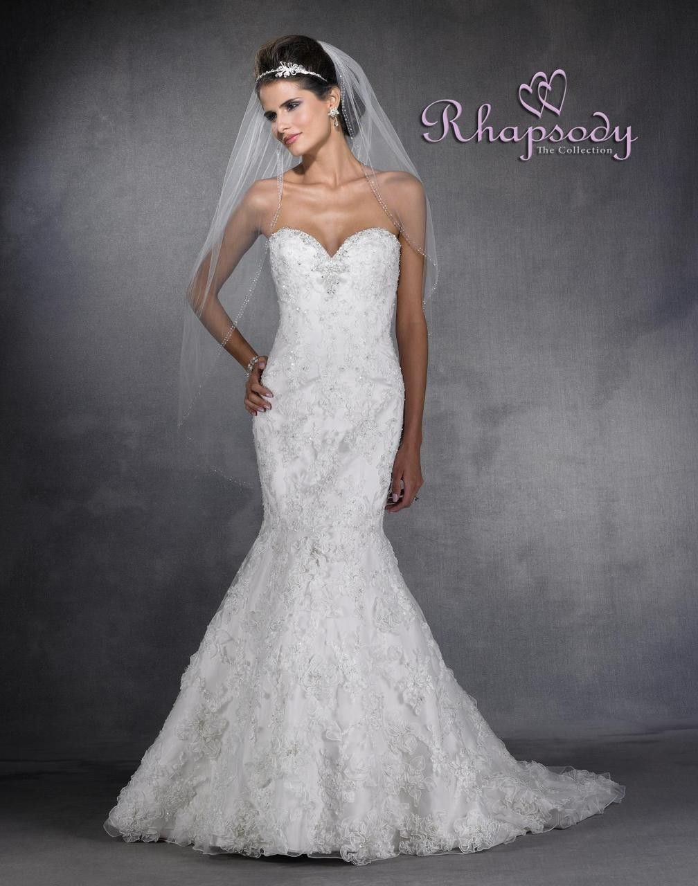 Symphony Wedding Dress - Style R6903 - Rhapsody Collection $389.99 ...