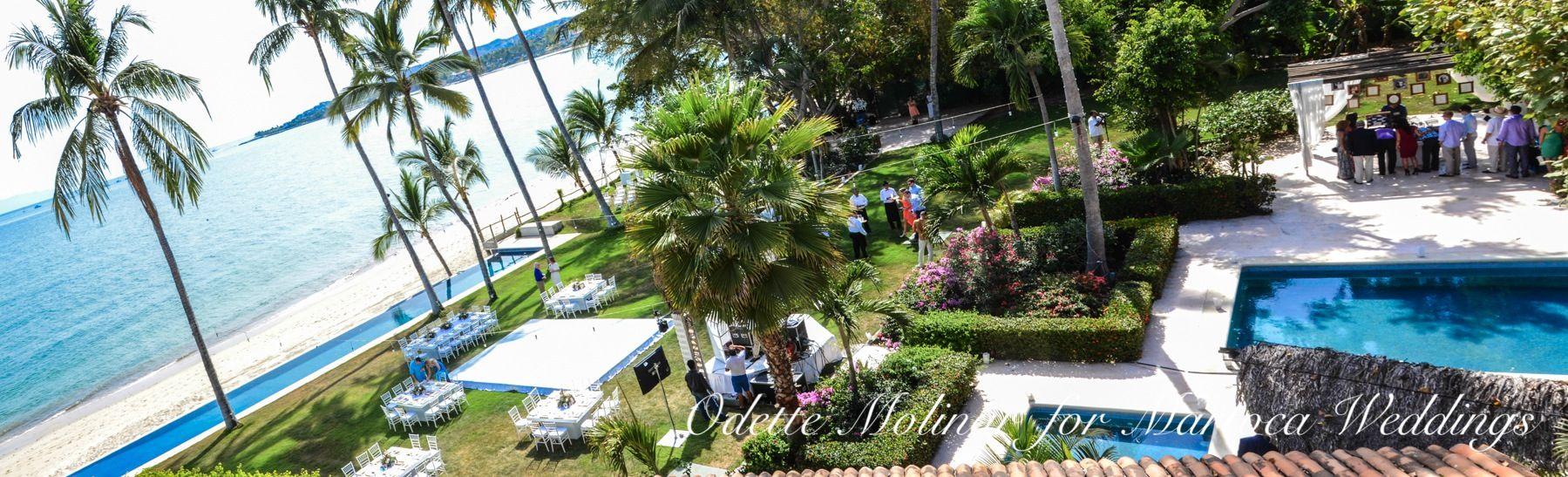 Wedding Planner: Odette Molinar. Venue: Martoca Beach Garden ...