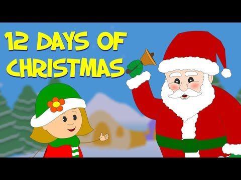 12 Days Of Christmas Christmas Carol Christmas Nursery Rhymes Christmas Carol Christmas Kindergarten