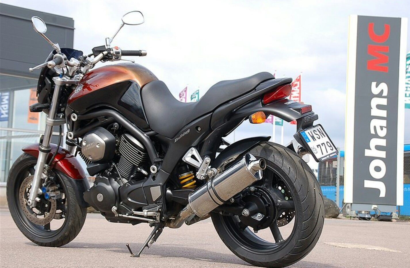 2005 Yamaha BT 1100 Bulldog. Sold mainly in Europe and  the UK.