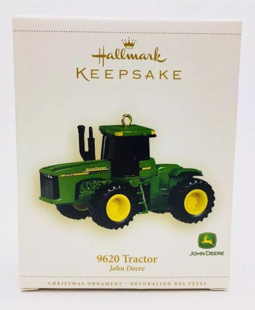 John Deere tractor Model 9620 Hallmark Keepsake Christmas tree ...
