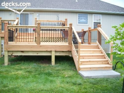 Multi Level Deck Picture Gallery Multi Level Deck Tiered Deck Multi Level Decks Backyard