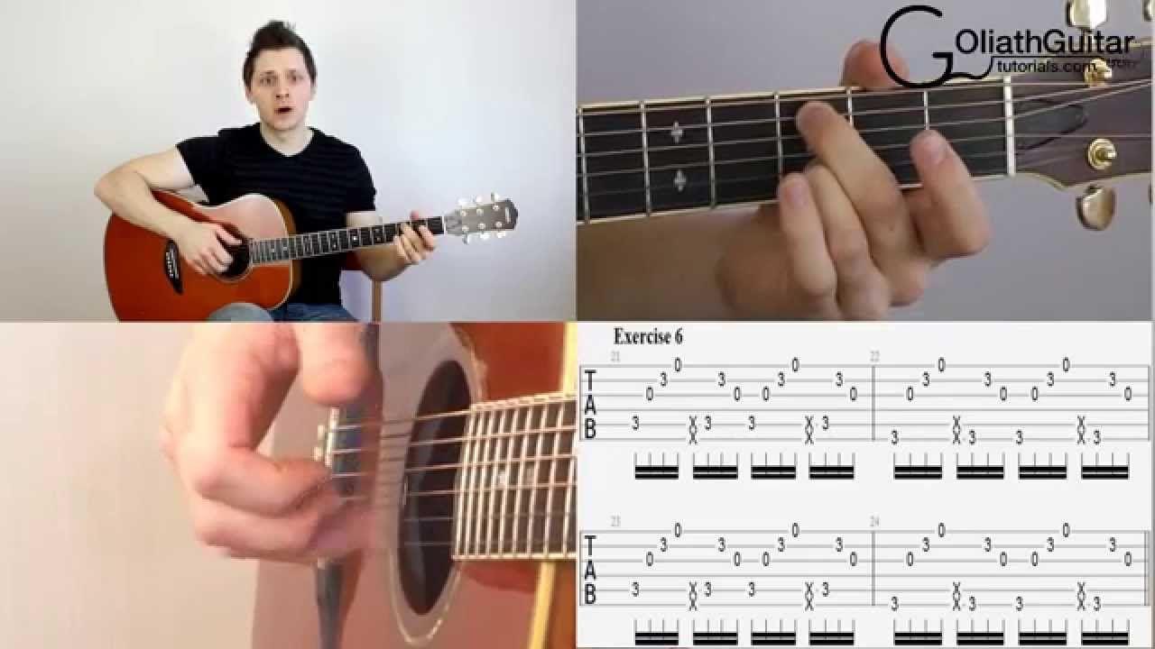 Percussive Slap Technique Acoustic Guitar Lesson Part 1 The Basics Acoustic Guitar Guitar Tutorial Acoustic Guitar Lessons