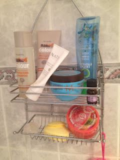 Confessions of a Beauty Addict: What's in my shower caddy?
