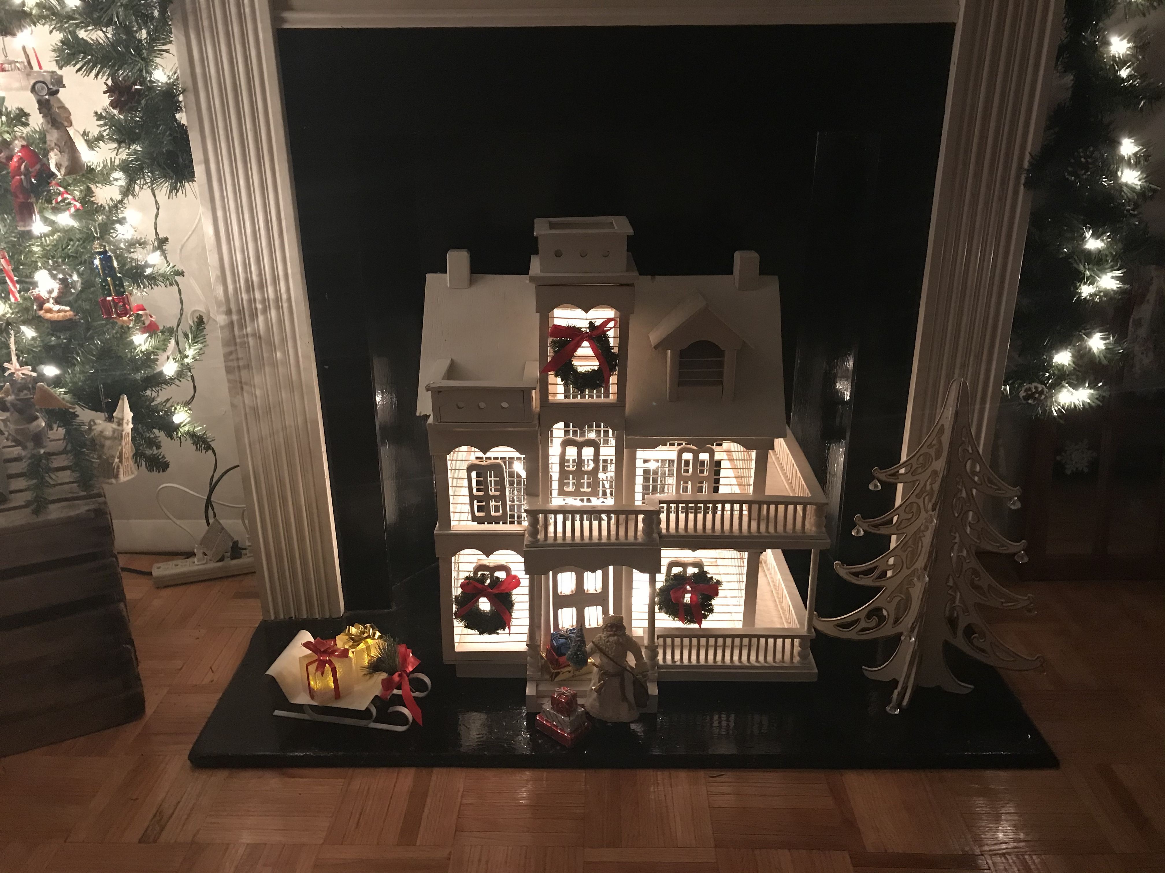 Birdhouse Transformed To A Beautiful Fireplace Insert With Images