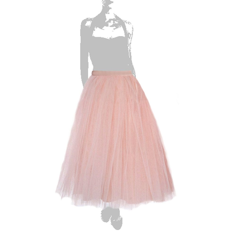 dd83ad2b3 Maxi tutu tulle skirt, maxi petticoat, champagne tutu skirt, light pink  tulle skirt, rose tulle skirt, wedding gown, wedding tutu. €150.00, via  Etsy.