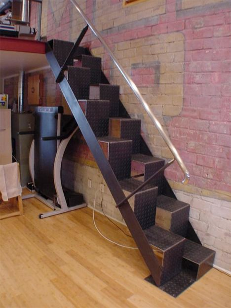 Nice STARIS_This Industrial Looking Loft Access Staircase Was Designed By Brocks  Metalworks