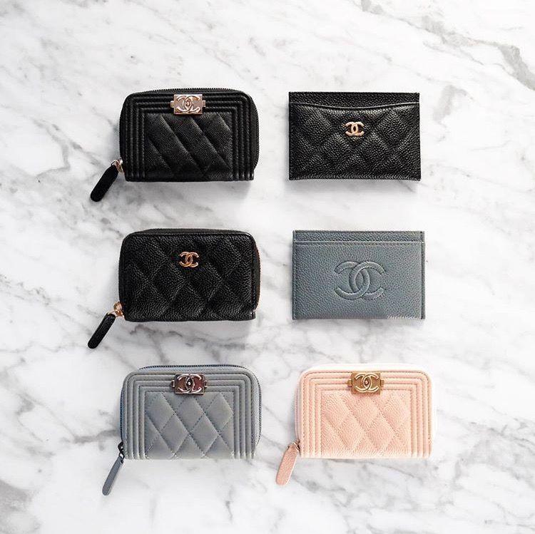 carteira chanel   Bags em 2019   Pinterest bd9aa02692