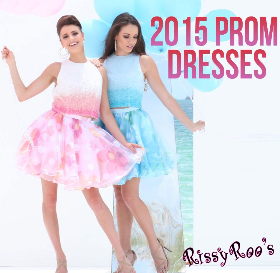 2015 Prom Dresses are in stock now.  The prom dress trends form Prom 2015 are AMAZING short prom dresses, two piece prom dresses, fabulous mermaid style prom dresses, feminine prom gowns, lace prom dresses, and all things girly!
