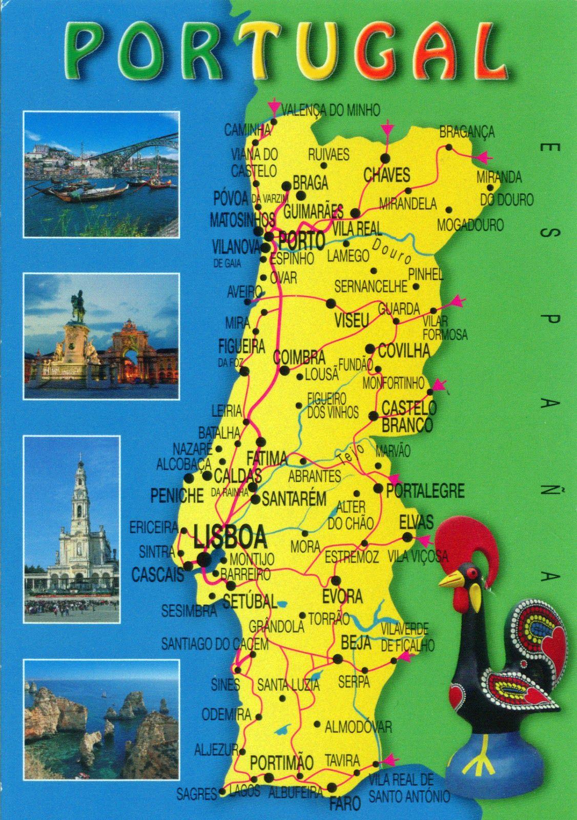 Pin By Pardal M On PORTUGAL NÃO É SÓ MAR E MARINHEIROS - Portugal italy map