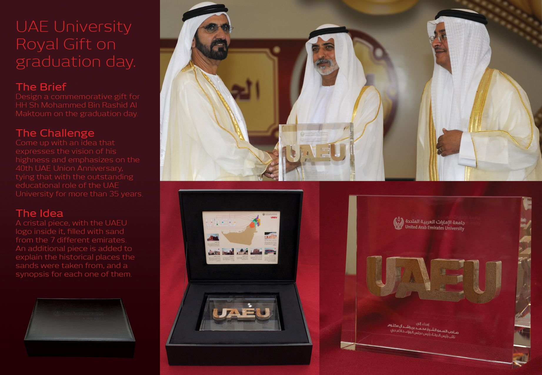 United Arab Emirates University: Graduation Ceremony Gift