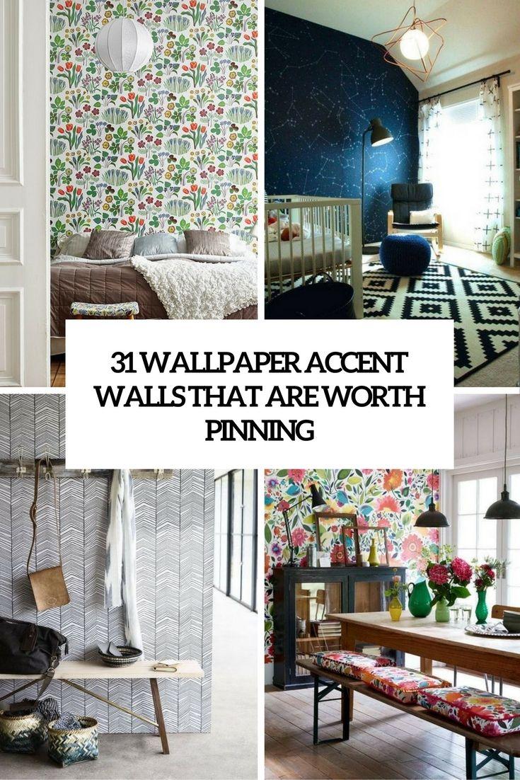 Living Room Wallpaper Accent Wall   http://club-maraton.com ...