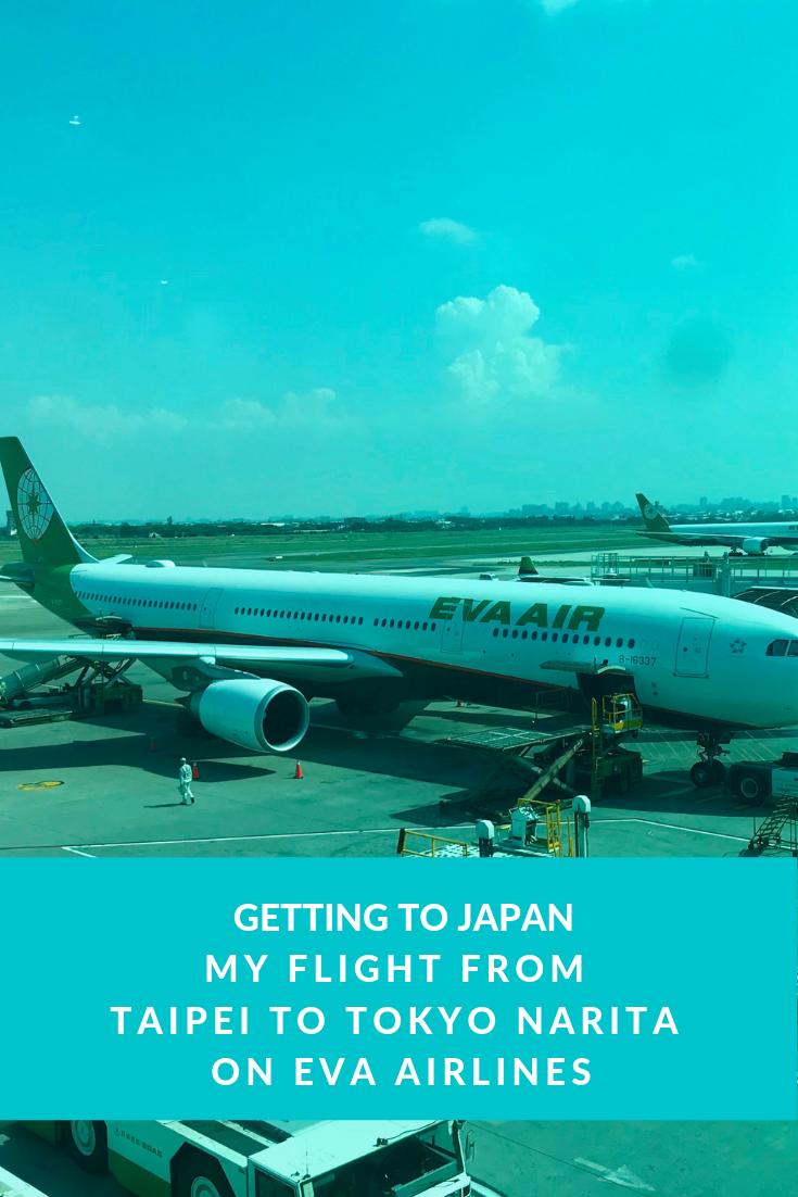 Getting To Japan Japan Eva Air Air Flight