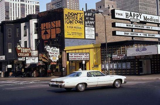 Rush Up And Happy Medium Rush St 1970s Chicago Photos