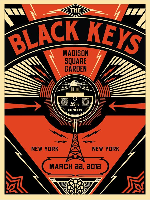 the black keys = most amazing gig posters