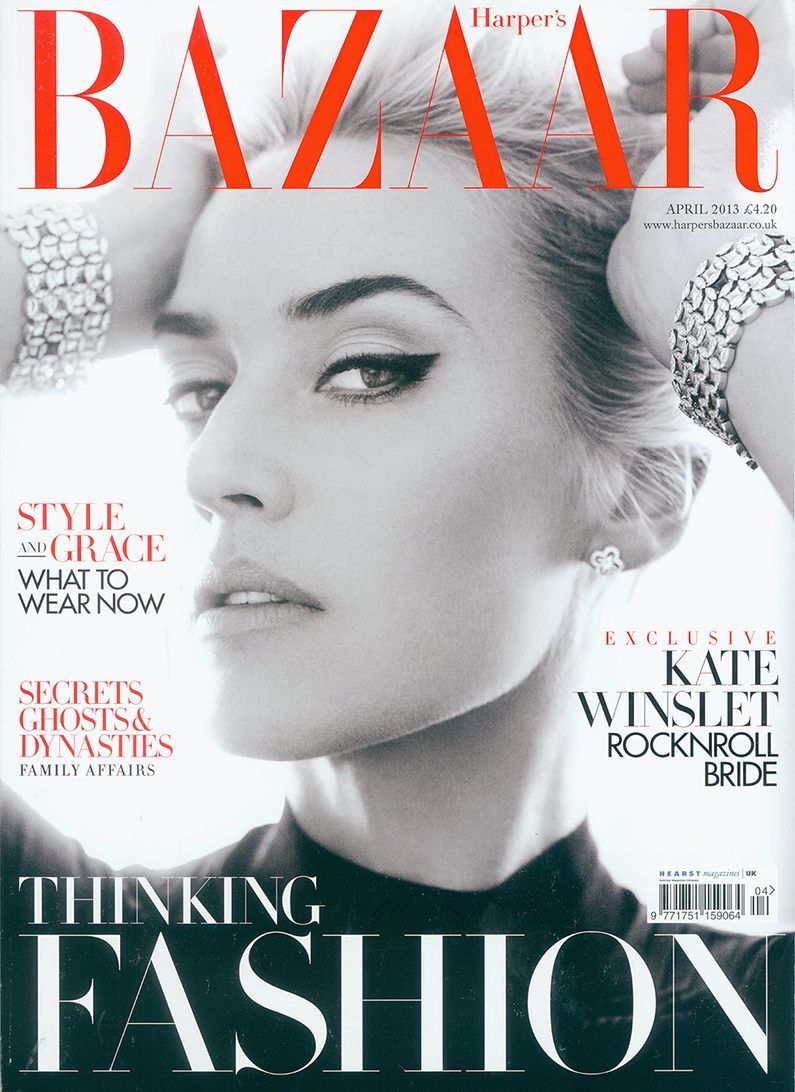 Maison Academia is on Harper's Bazaar UK April 2013 http ...