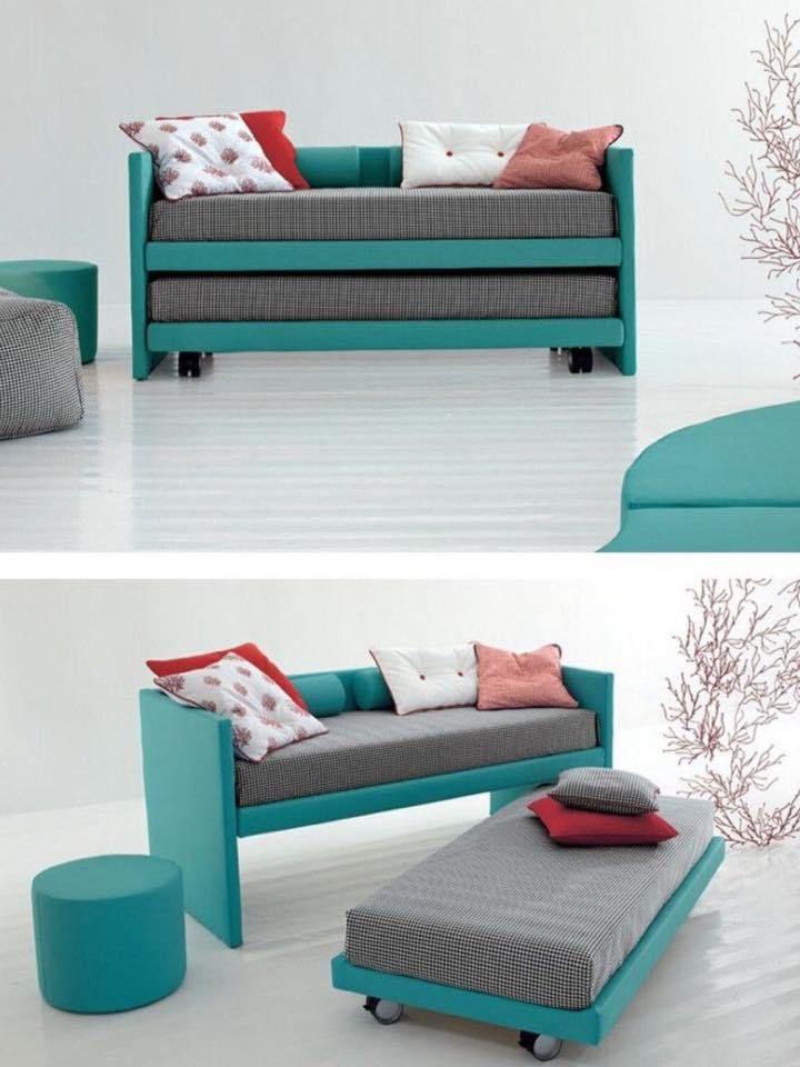Sistemas modulares transformables para multiplicar el for Sofa cama armario