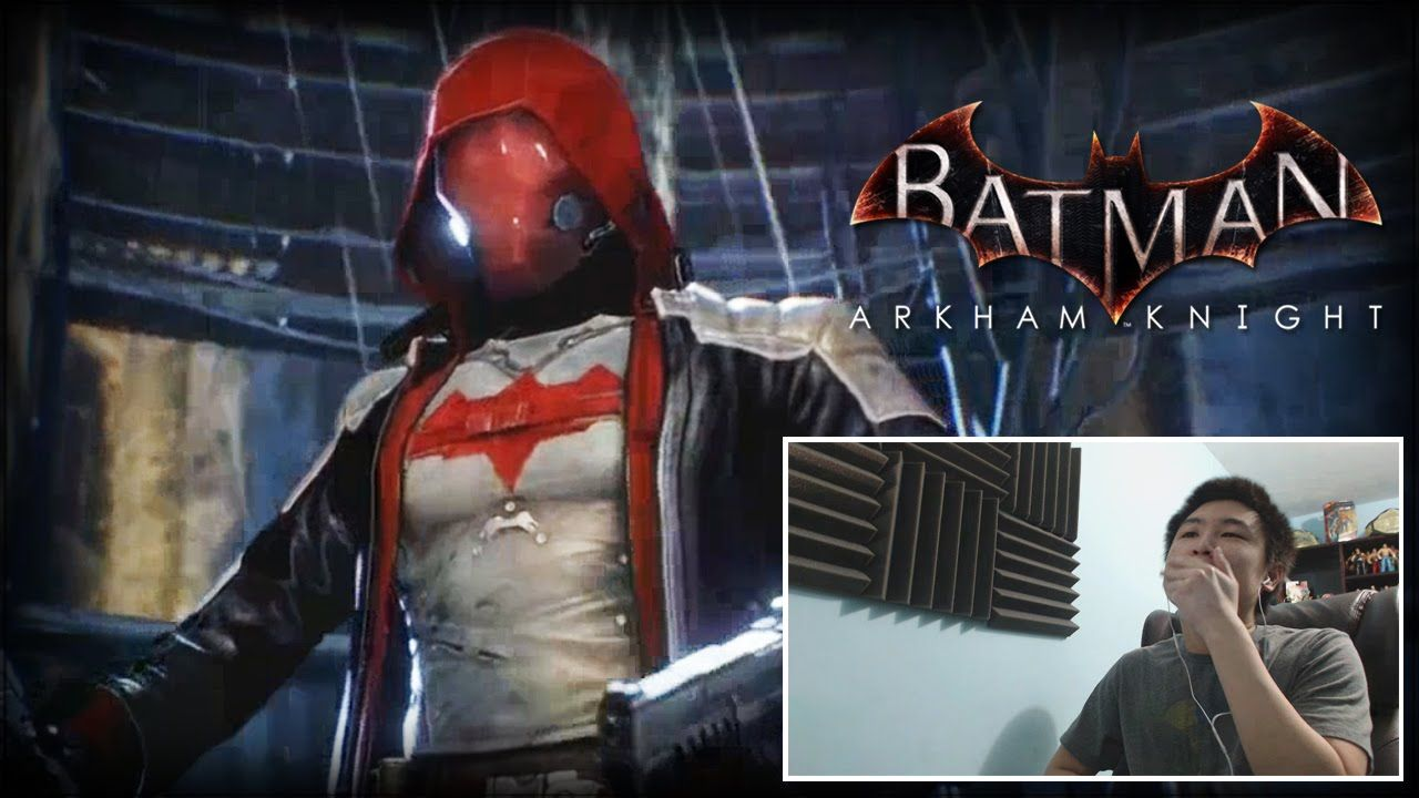 Batman Arkham Knight Red Hood Trailer Uncagedgamez Reaction