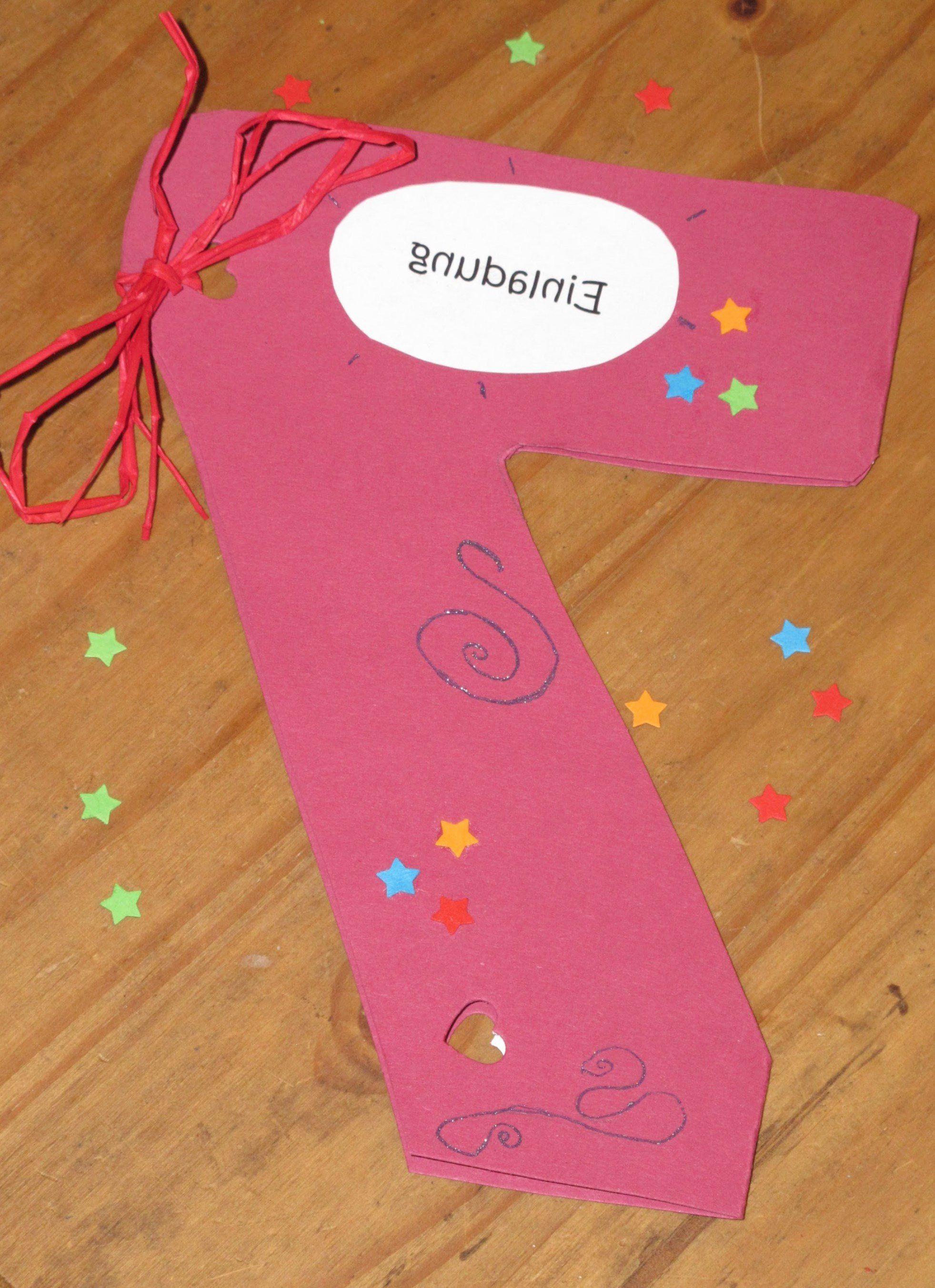 kindergeburtstag einladung selber basteln - http://stylehaare, Einladung