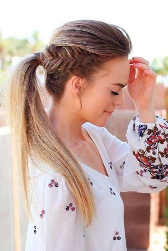 Summer Hairstyles 30 Easy Summer Hairstyles To Do Yourself  Ponytail Easy Summer
