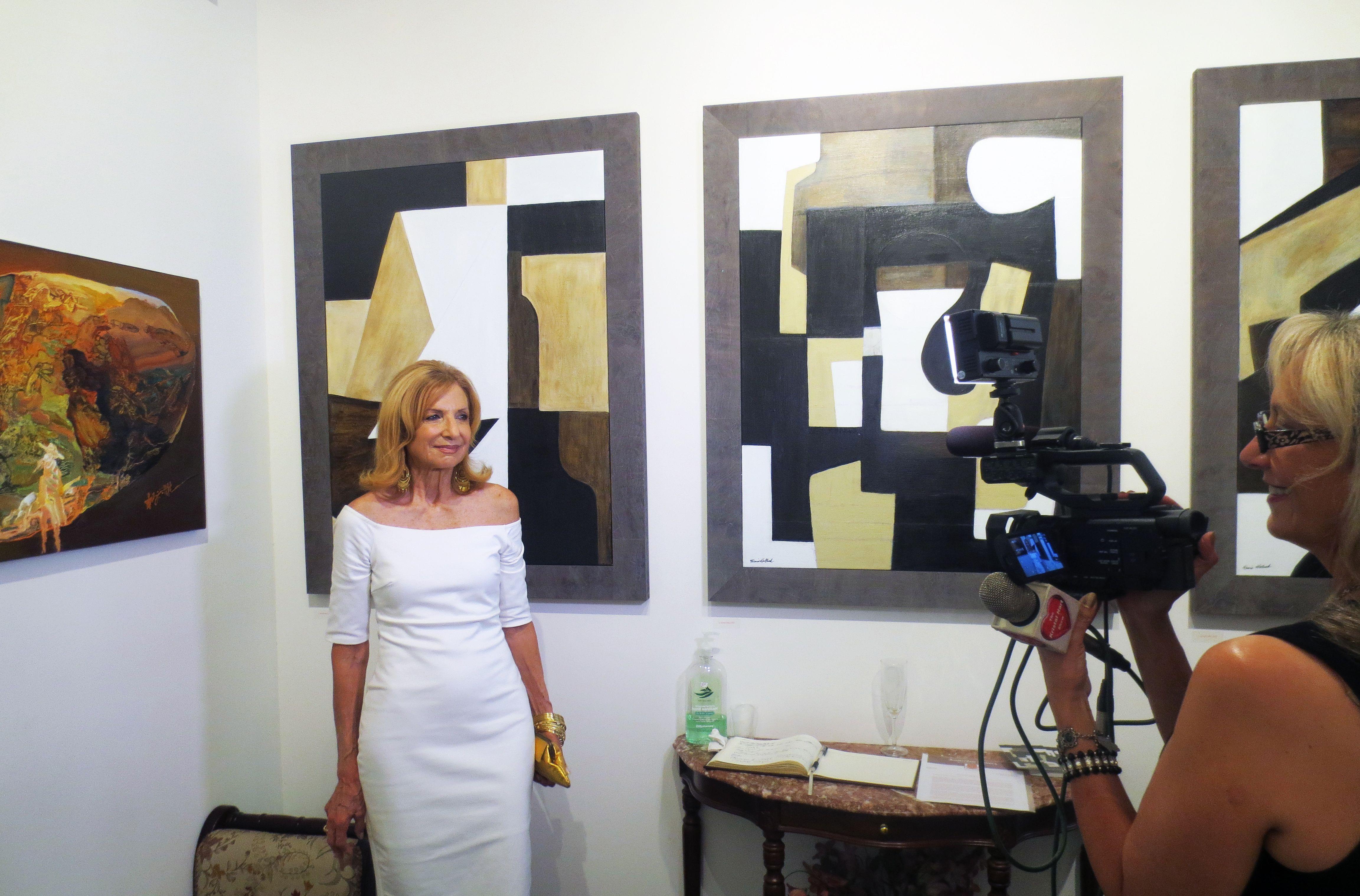 Ms kristal hart filming amsterdam whitney gallery s artist diane