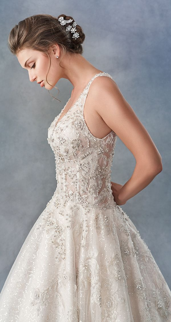 Ella Rosa BE459 Embroidered Cotton Lace/ Tulle/ English
