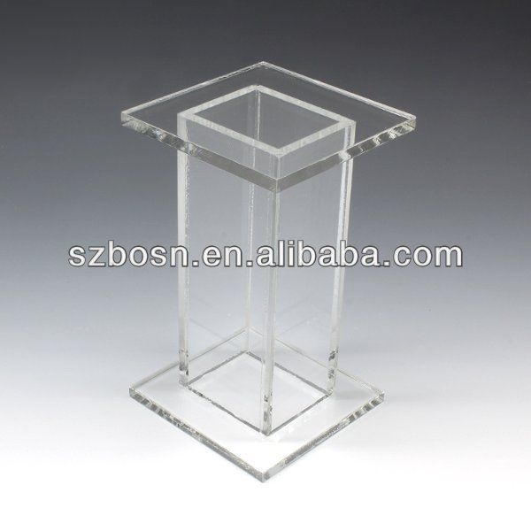 buy pedestal perspex stand acrylic plexiglass pin pedestals