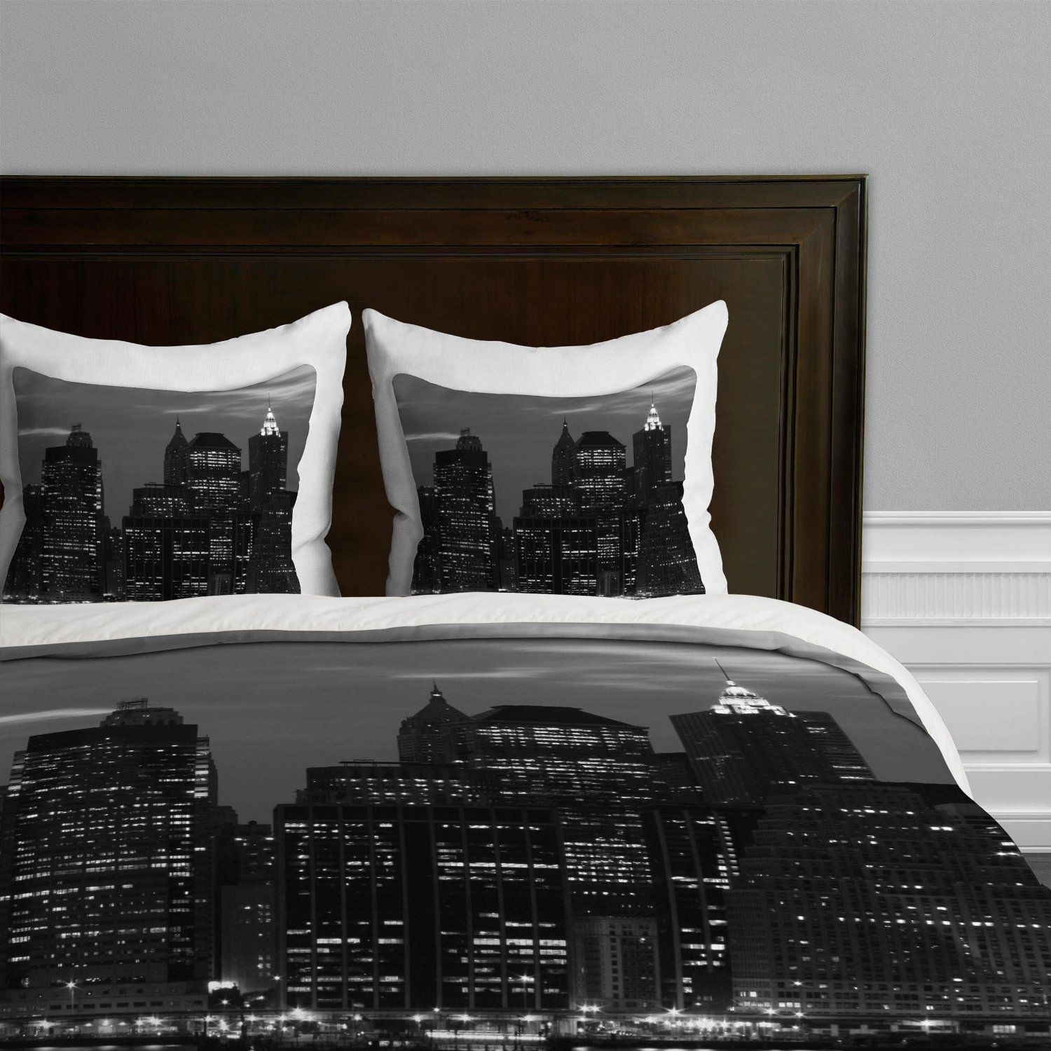 new york skyline bedding & nyc themed bedroom ideas | marissa's
