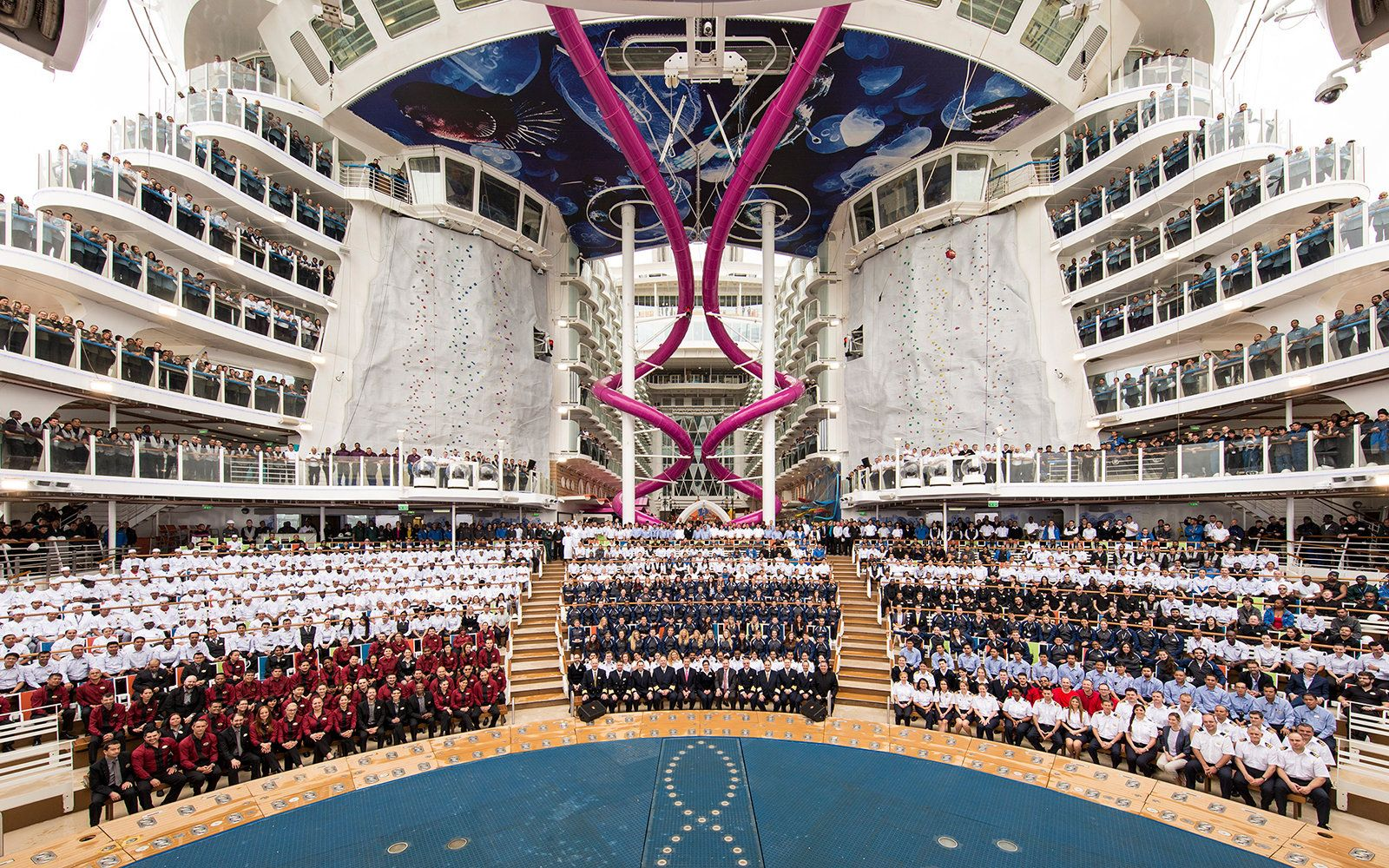 Worlds Biggest Cruise Ship Makes Its Maiden Voyage Cruise Ships - Biggest cruise ships