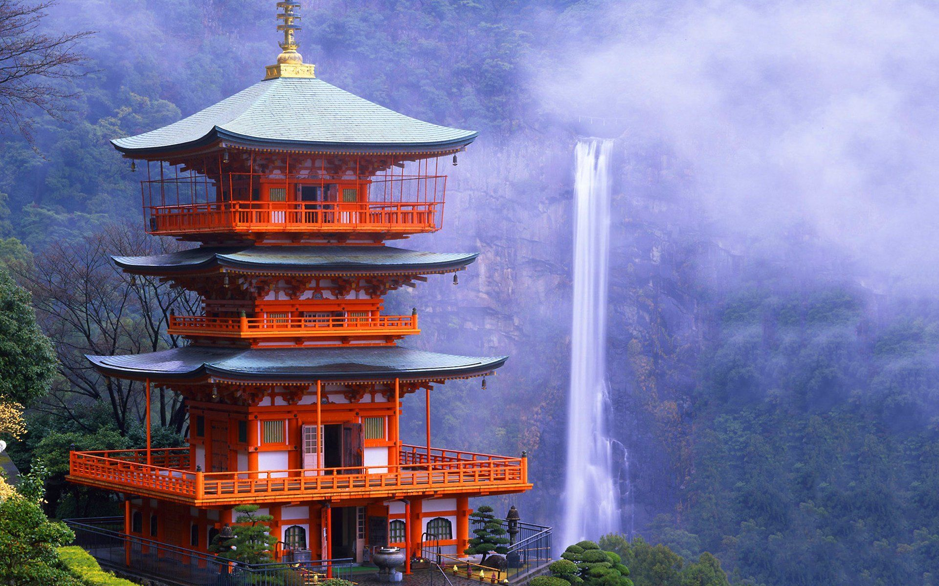 Wallpaper China Hd Japanese Architecture Japanese Temple Hd Anime Wallpapers