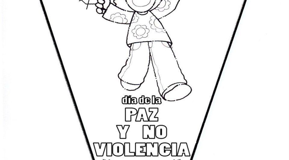 Imágenes Para Colorear Dibujos Del Día De La Paz: Dibujos Para Colorear Del Día De La Paz. Para Conmemorar