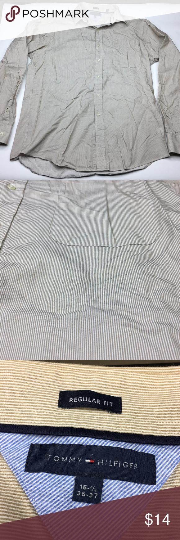 Tommy hilfiger long sleeve dress shirt size my posh closet