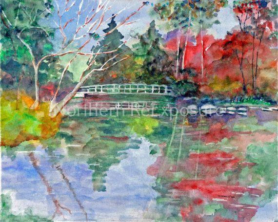 Eden's Bridge Giclee Print by NorthernReExposure on Etsy