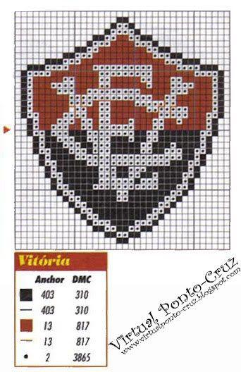 Virtual Ponto-Cruz  Gráficos - Escudo de Times  0fd9ec687b9ef