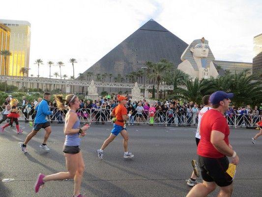 Rock 'n' Roll Las Vegas Half Marathonevening Nov 2015 In: Las Vegas Half Marathon Course Map At Infoasik.co
