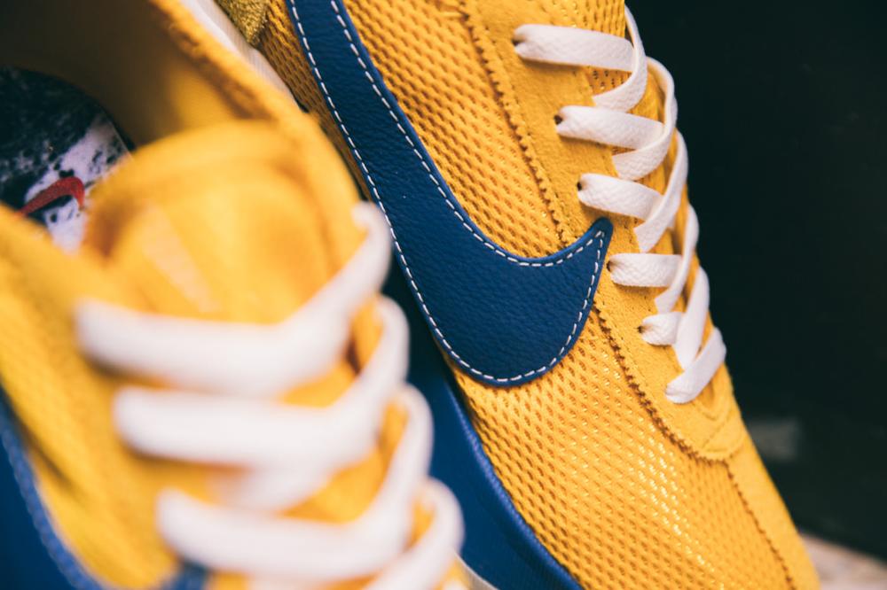 Nike Moon Racer Qs Mountain Blue Team Orange Midnight Navy Yellow Ochre Gym Blue Sail Sneakers Fashion Boutique Sneaker Stores
