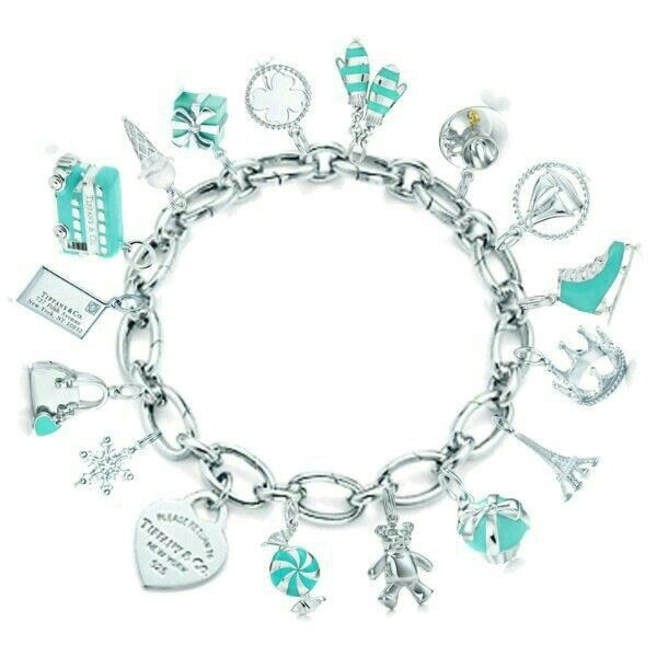 Tiffany ankle bracelet