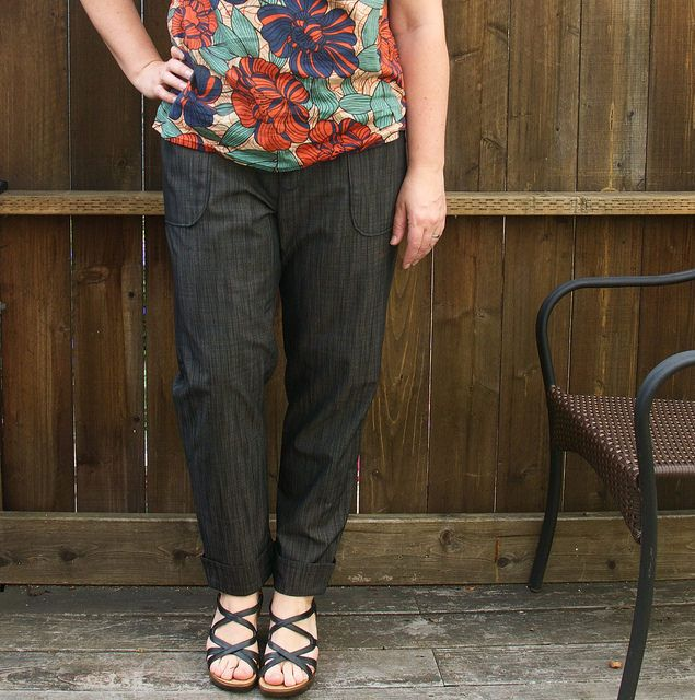 Seamwork Moji pants from my Fall Sewing collection
