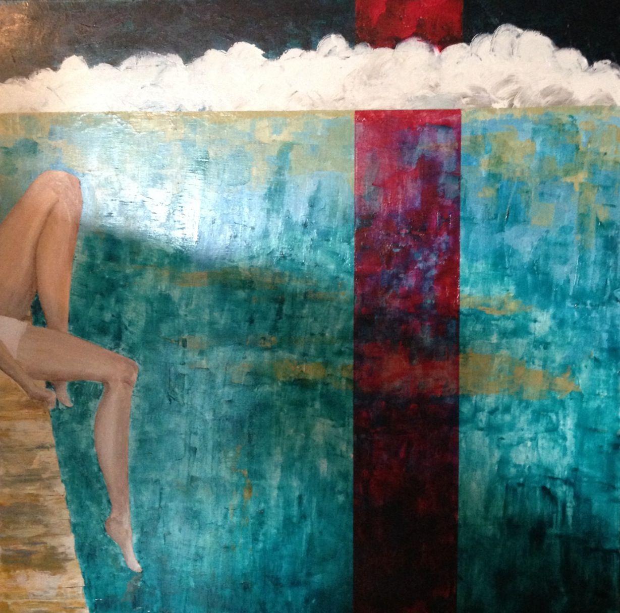 Joey 36x36 acrylic on canvas