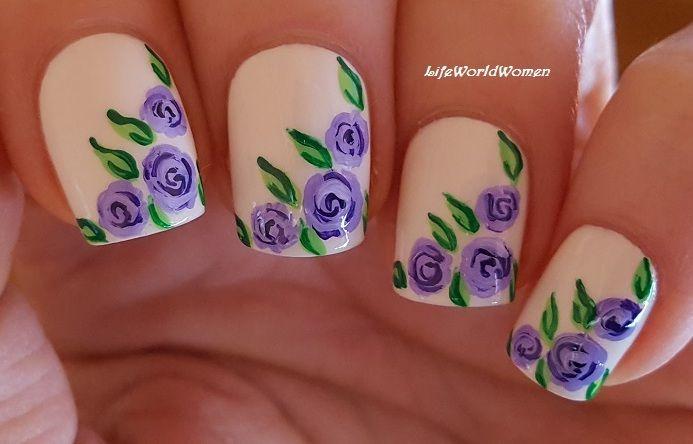 Nail Art Designs Using Acrylic Paint | Splendid Wedding Company