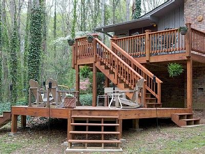 Tiered Deck Google Search Little House In The Big