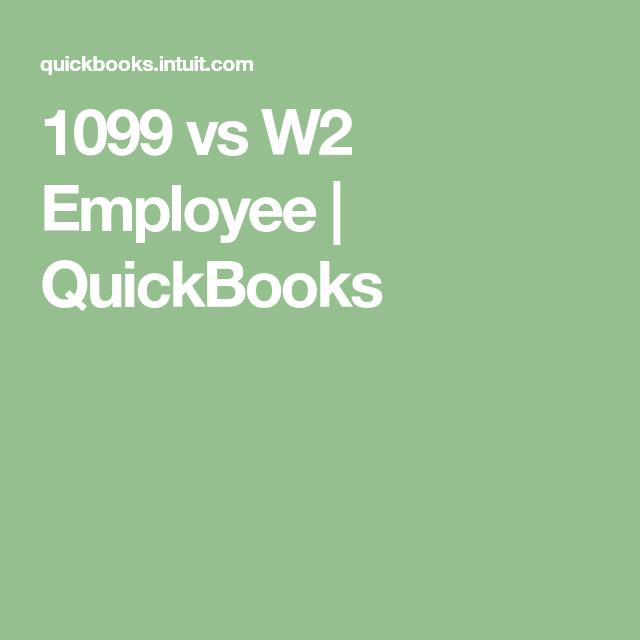 1099 vs W2 Employee   Finance   Finance, Law