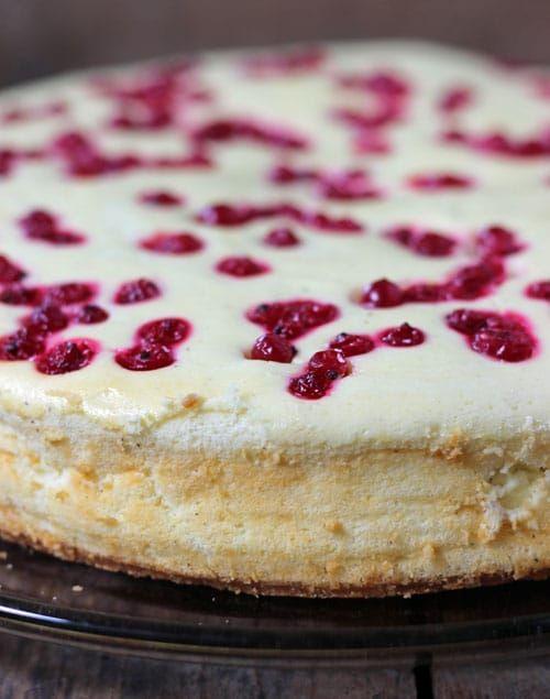 Cheesecake Mit Johannisbeeren Und Knusperboden Kuchen Und Torten Bester Kasekuchen Dessert Ideen