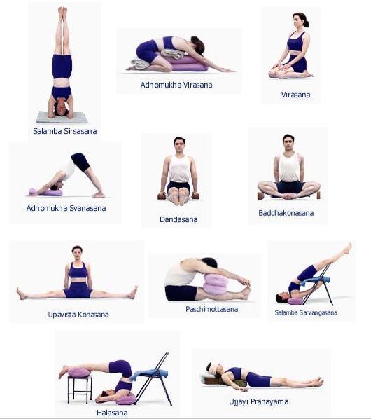 secuencias de yoga iyengar - Buscar con Google   SECUENCIAS DE ...