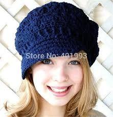Resultado de imagem para boina de trico Crochet Hat For Women 8a7d4b3049ae