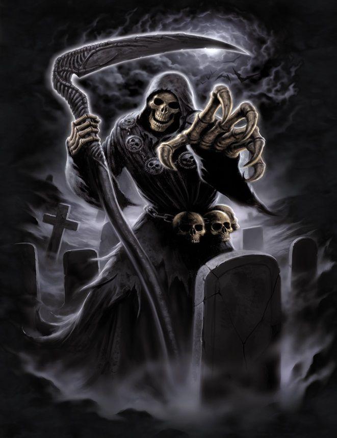 Reaper | Tattoo | Grim reaper, Reaper tattoo, Dark reaper