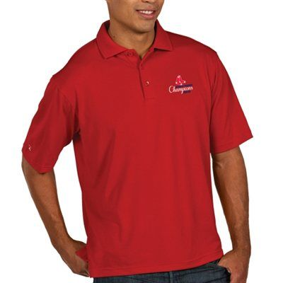 Antigua Boston Red Sox 2013 Mlb World Series Champions Pique Polo