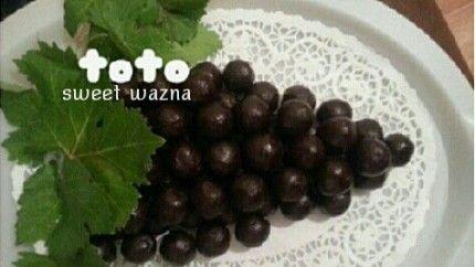 حلى عنقود العنب Recipe Food Sweet Fruit