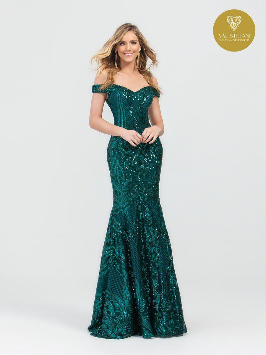 Val Stefani Mermaid 3497rb Pageant Planet Green Sequin Dress Green Formal Dresses Long Sequin Dress [ 1200 x 900 Pixel ]