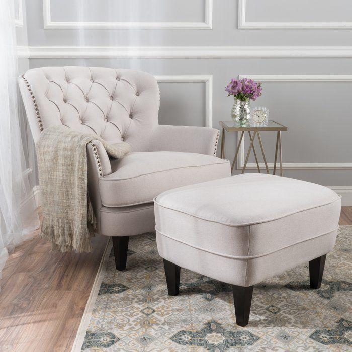 Heywood Armchair And Ottoman Living Room Chairs Living Room